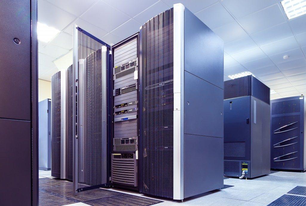 data store room full of cpu