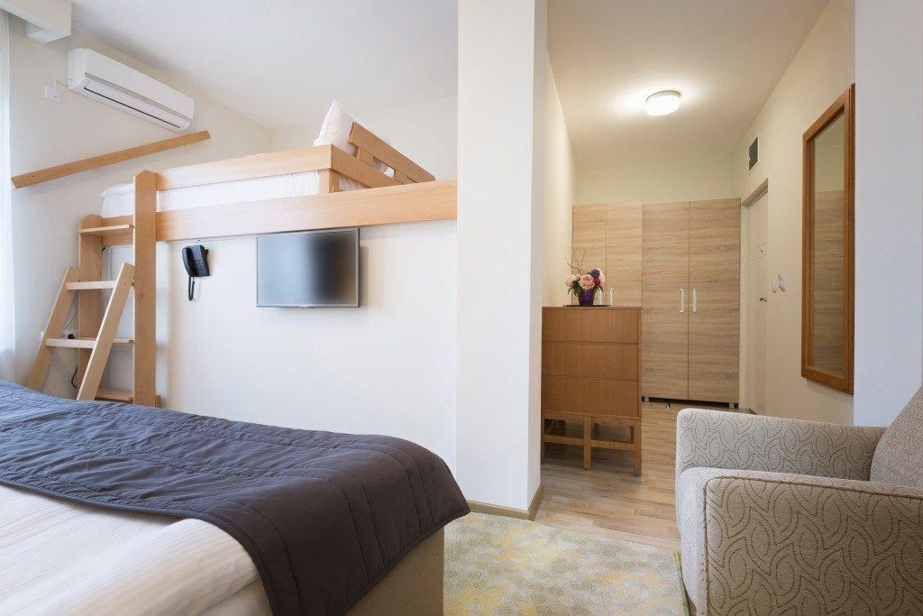 Cozy hostel room