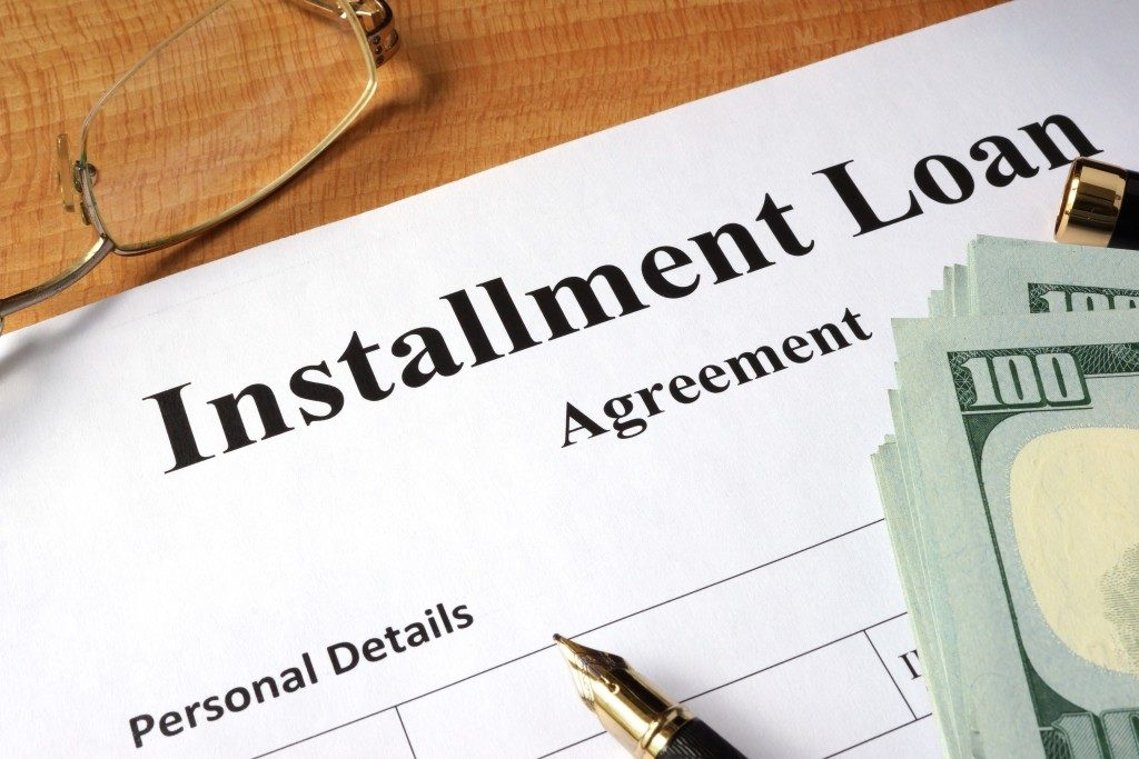Installment loan agreement