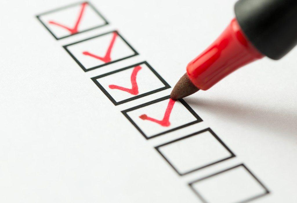 Corporate Checklist