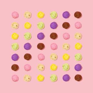 Rainbow of Ice Cream