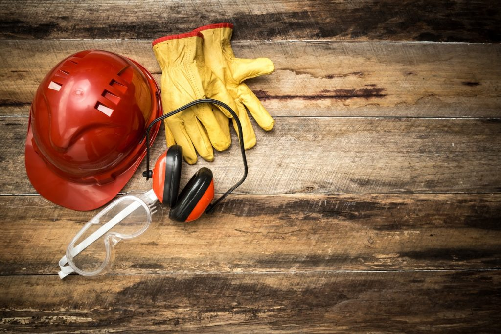 Protection and safety equipment for work