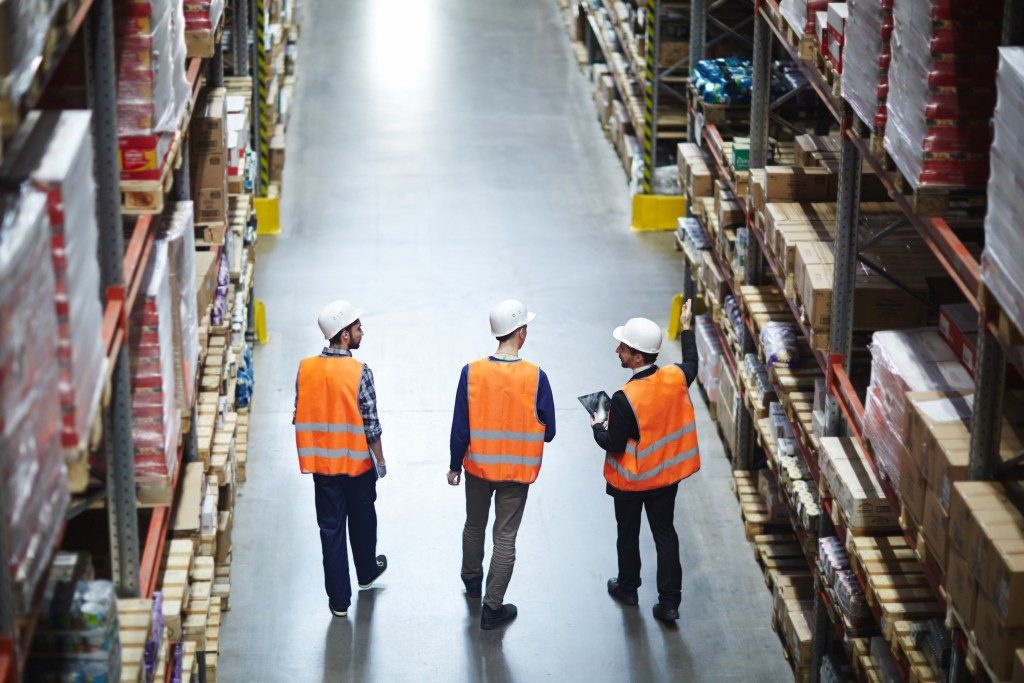 inventory workers