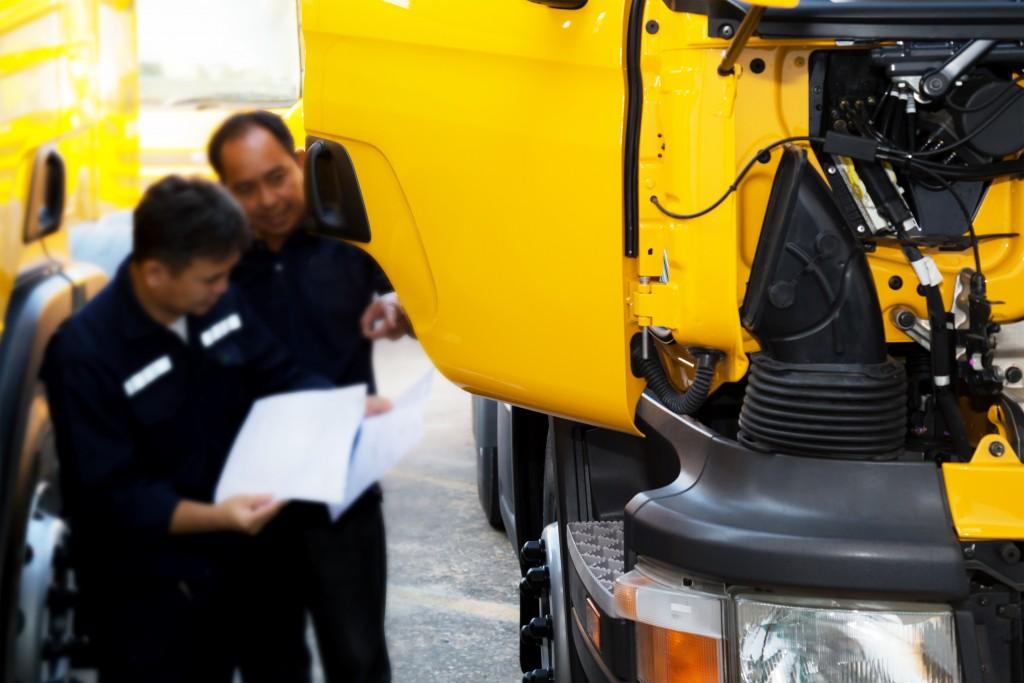 truck maintenance check