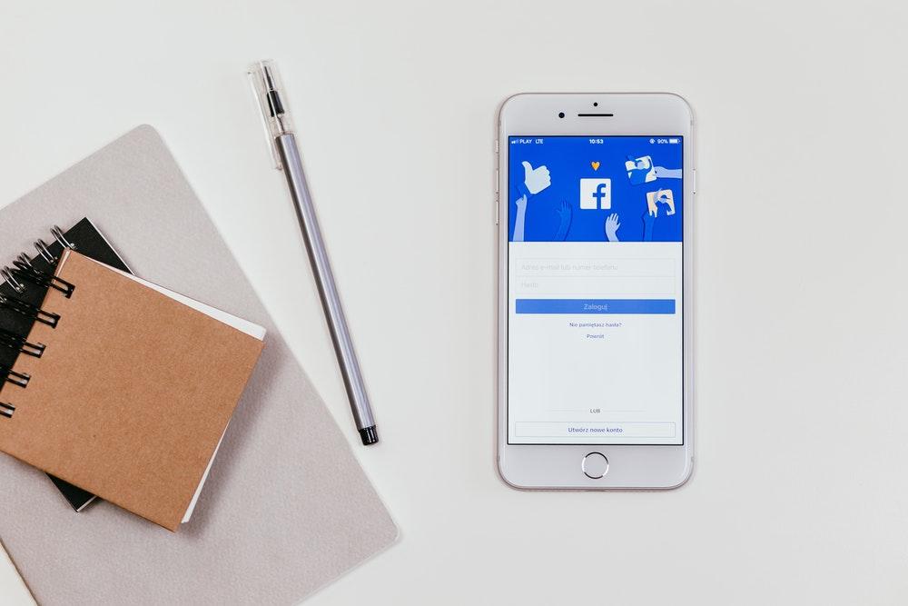 phone with facebook app login