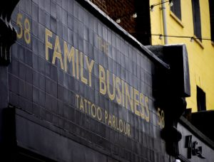 family business tattoo parlor