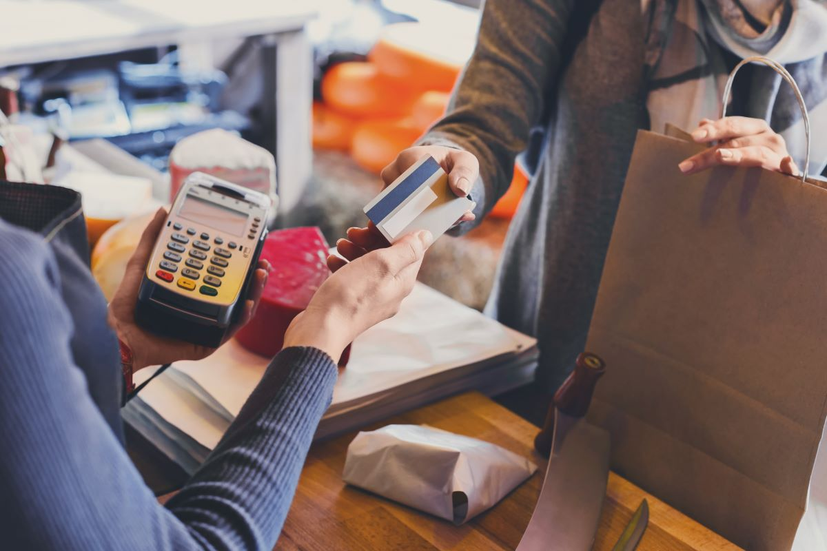 credit card payment shopping