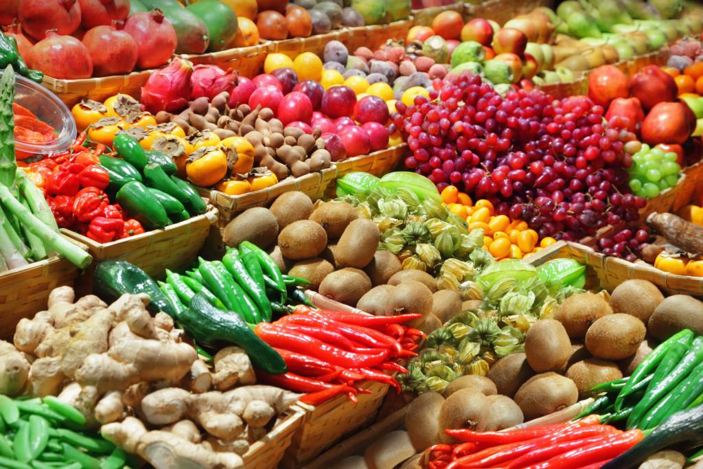 assortment of crops