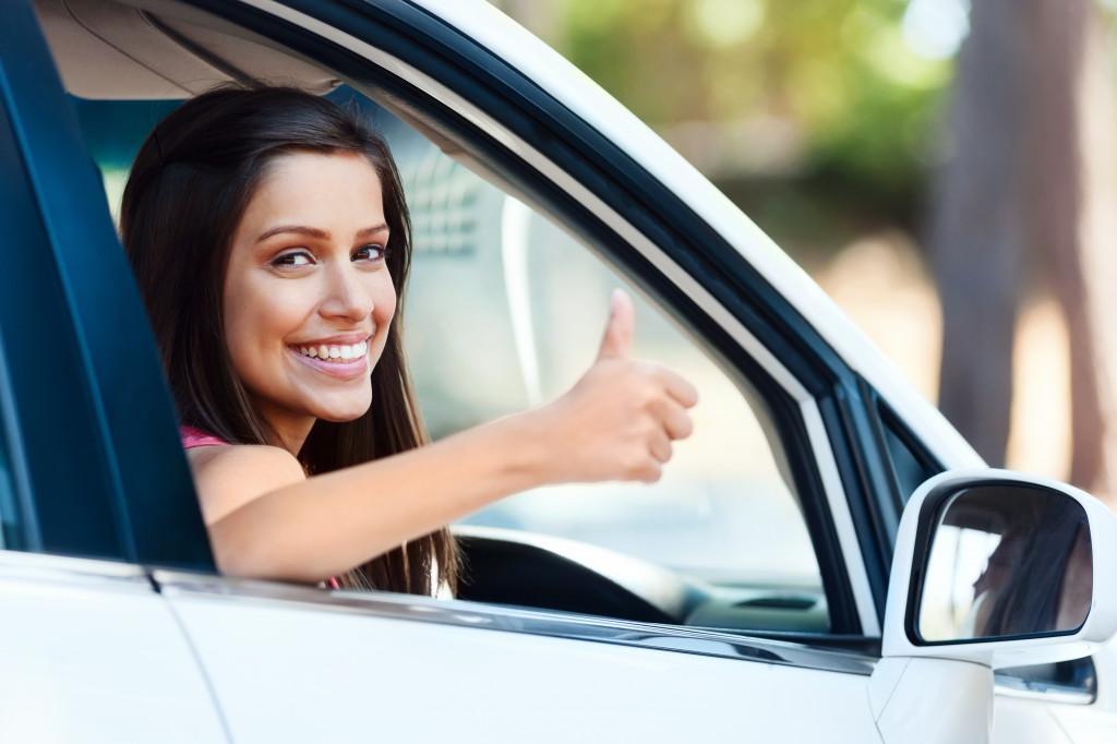 satsfied ride sharing customer